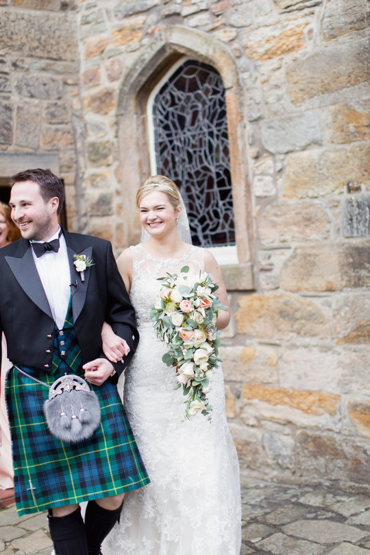 Craig & Eva Sanders Photography - Autumn Wedding - Hopetoun House - Planet Flowers