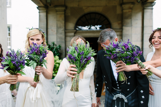 Duke Photography - Game Of Thrones Wedding - Prestonfield House -Planet Flowers