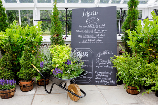 Rankine Photography - Lunch Event - Corporate - BBQ - Greenhouse - Hopetoun House