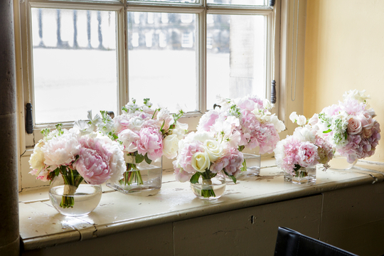 Rankine Photography - Planet Flowers - Hopetoun House - Summer Wedding - Pink Wedding