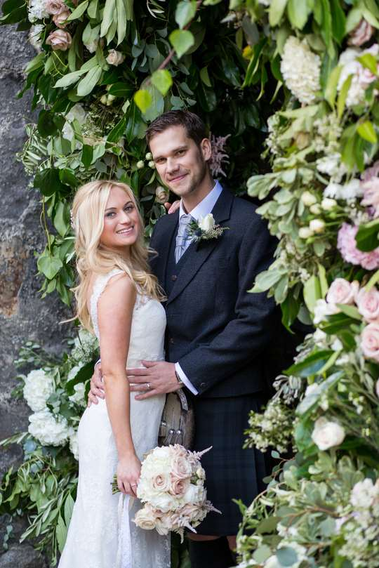 Ryan White Photography - Planet Flowers - Dundas Castle - Summer Wedding - Vintage Wedding