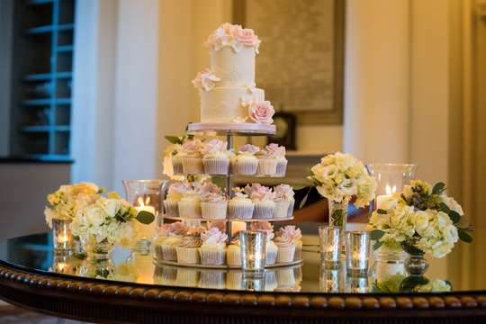 Ryan White Photography - Signet Library - Pink Wedding