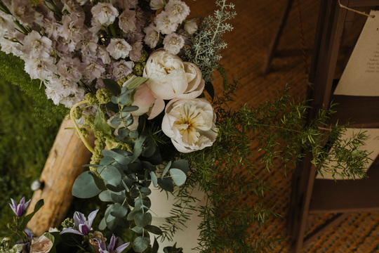 Claire Juliette Paton - Tipi Wedding - Tullibole Castle - Planet Flowers